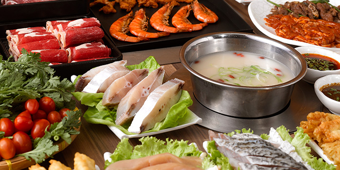 Steamboat from Seoul Garden (Tampines Mall) in Tampines, Singapore