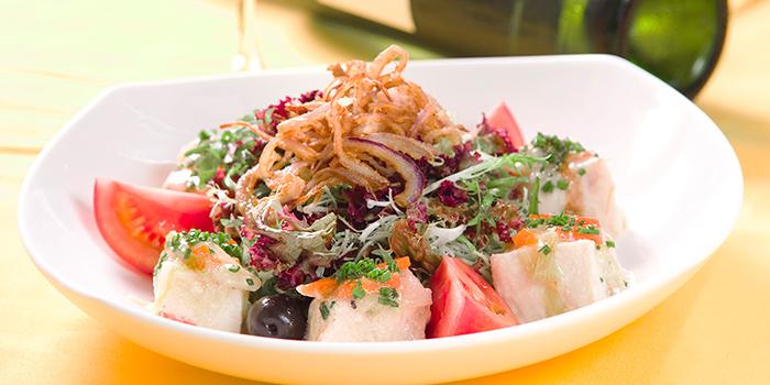 Swordfish Salad, Ole Spanish Restaurant & Wine Bar, Central, Hong Kong