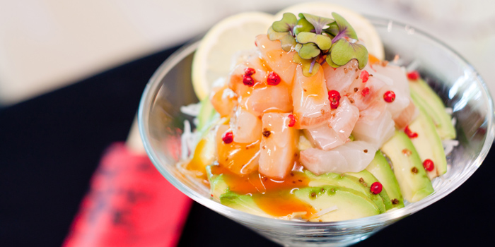 Tai Ceviche from Benihana at Anantara Riverside Bangkok Resort 257/1-2 Thonburi, Bangkok