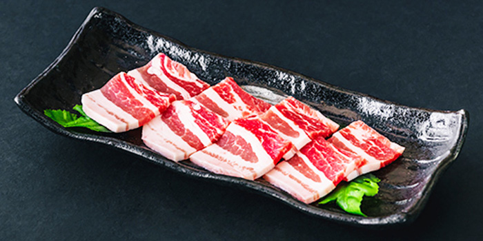 Kurobuta Pork Belly from Tajimaya Yakiniku at Vivocity in Harbourfront, Singapore