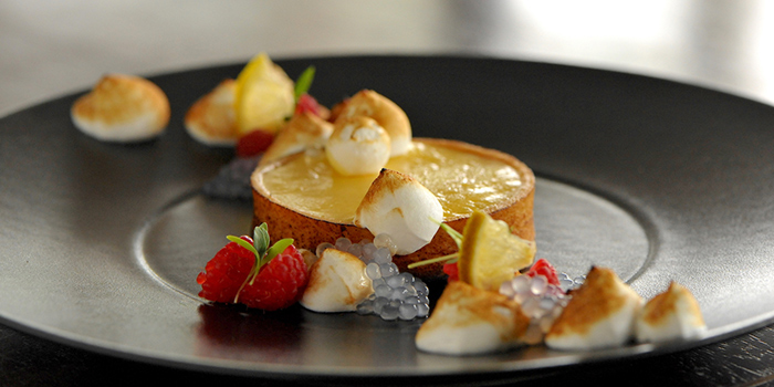 Tart from Privé Grill @ The University Club at Shaw Foundation Alumni House in Clementi, Singapore