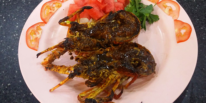 BBQ Lobster from Tekong Seafood Restaurant at Changi Village in Changi, Singapore