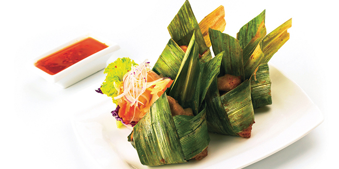 Pandan Chicken  from Thai Accent at VivoCity in Habourfront, Singapore