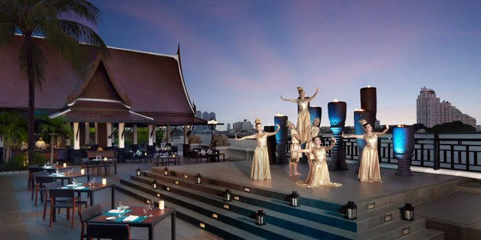 Thai Classical Show from Riverside Terrace at Anantara Riverside Bangkok Resort 257/1-2 Thonburi, Bangkok