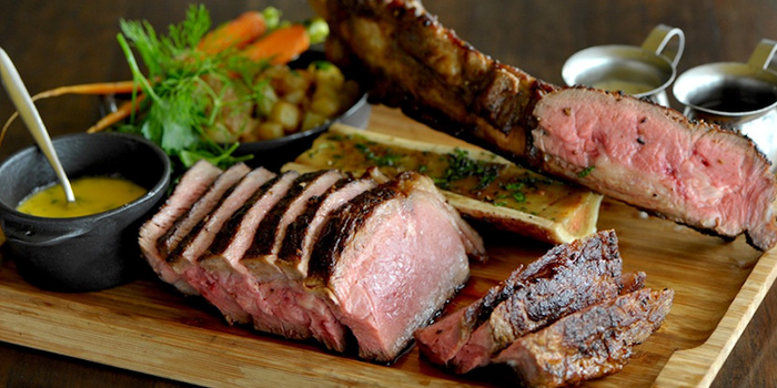 Tomahawk Steak from Privé Grill @ The University Club at Shaw Foundation Alumni House in Clementi, Singapore