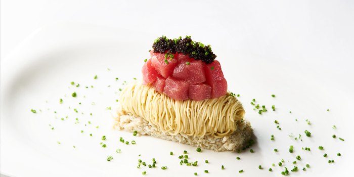 Tuna Cold Capellini  from Whale