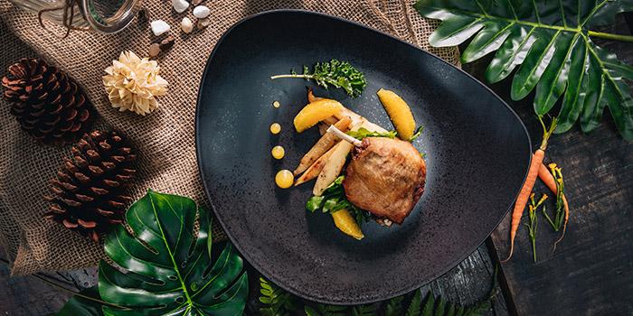 Farmed Duck Confit from Vineyard at HortPark in Telok Blangah, Singapore