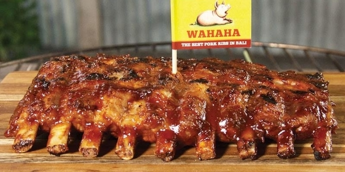 Dish 1 at WAHAHA, Uluwatu