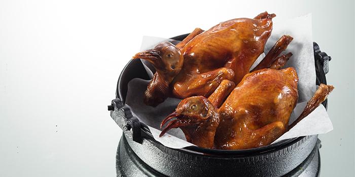 Deep Fried Baby Pigeon, Yum Cha, Causeway Bay, Hong Kong