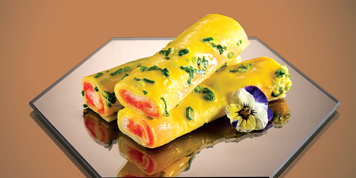 Mentaiko Rice Rolls, Yum Cha, Causeway Bay, Hong Kong
