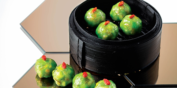 Porcini & Black Truffle Dumplings, Yum Cha, Causeway Bay, Hong Kong