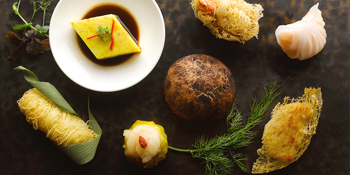 Dim Sum Selection from Yan Ting at The St. Regis Singapore in Tanglin, Singapore