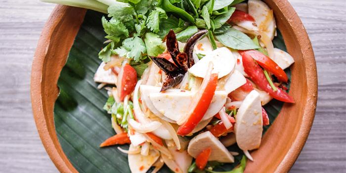 Yum-Moo-Yor from Mistral Restaurant at Pullman Bangkok Hotel G 37th Floor, 188 Silom Rd, Bangrak, Bangkok