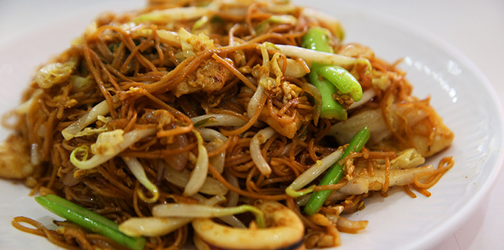 Fried Vermicelli from Tekong Seafood Restaurant at Changi Village in Changi, Singapore