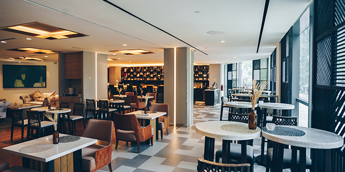 Interior of TCC @ OSC in Orchard, Singapore