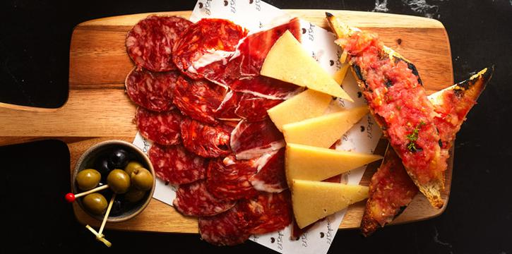 Cold Cut & Cheese Platter from El Tapeo - Spanish Eatery and Wine Bar at Thonglor 7-9, Klongtan Nua Wattana, Bangkok