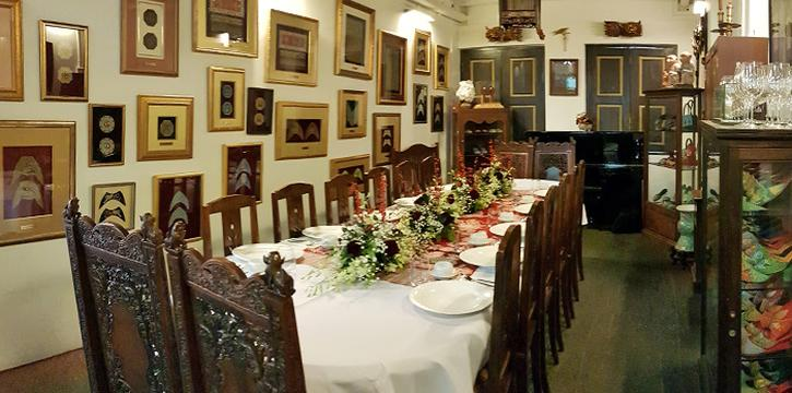 Dining Room of True Blue Cuisine at Armenian Street in City Hall, Singapore