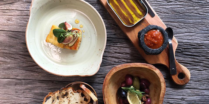 Appetizer Selection  from La Casa Nostra at 22 Sathorn 1 Alley Yak 2 (Soi Goethe) Thung Maha Mek Sathorn, Bangkok