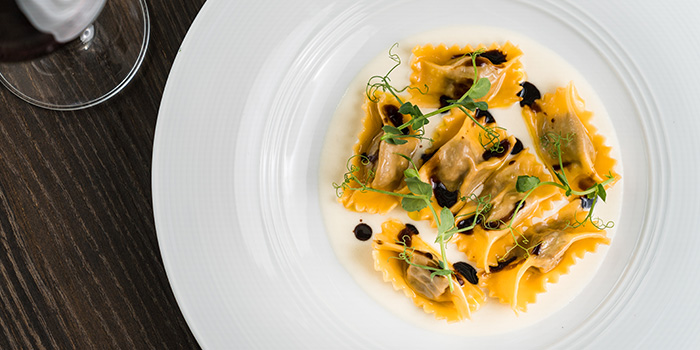 Beef Cheek Tortelli from the Cliff in Sentosa, Singapore