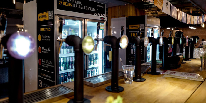 Beer Tap from Wishbeer Home Bar at The Street Ratchada Ratchadaohisek Road Din Daeng, Bangkok