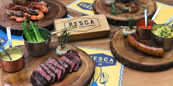 Grilled Section from Pesca Mar & Terra Bistro at Ekkamai 12 Alley, Wattana, Bangkok
