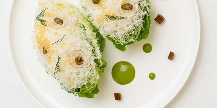 Baby Romaine from COMO Cuisine in Dempsey, Singapore