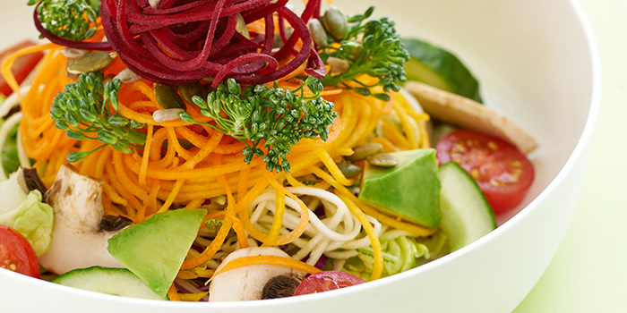 Big Raw Salad from COMO Cuisine in Dempsey, Singapore