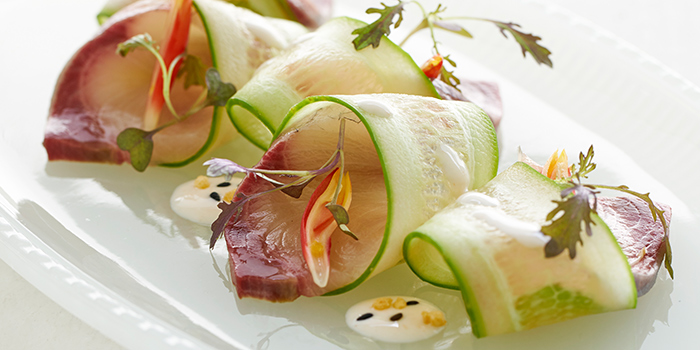 Kingfish Sashimi from COMO Cuisine in Dempsey, Singapore