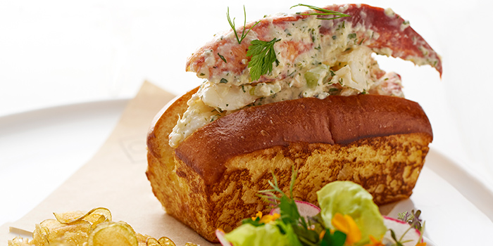 Lobster Roll from COMO Cuisine in Dempsey, Singapore