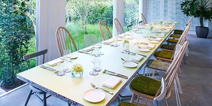 Private Dining Room in COMO Cuisine in Dempsey, Singapore