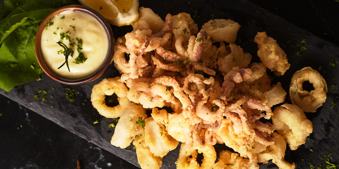 Calamari from El Tapeo - Spanish Eatery and Wine Bar at Thonglor 7-9, Klongtan Nua Wattana, Bangkok