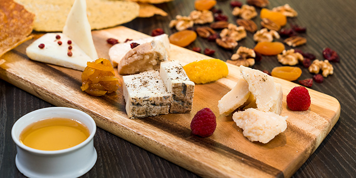 Cheese Platter from the Cliff in Sentosa, Singapore
