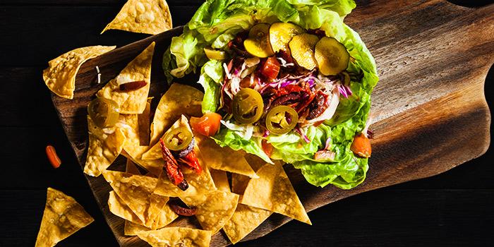 Chop Taco Salad Bowl from Mischief at Esplanade in Promenade, Singapore