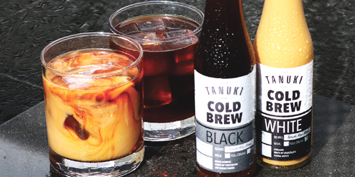 Cold Brew Coffee from Tanuki Raw at the National Design Centre in Bugis, Singapore