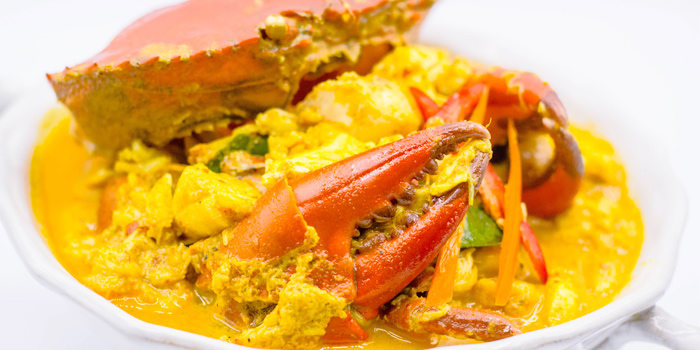Crab-Curry from Tantitium in Phuket Town, Muang, Phuket, Thailand