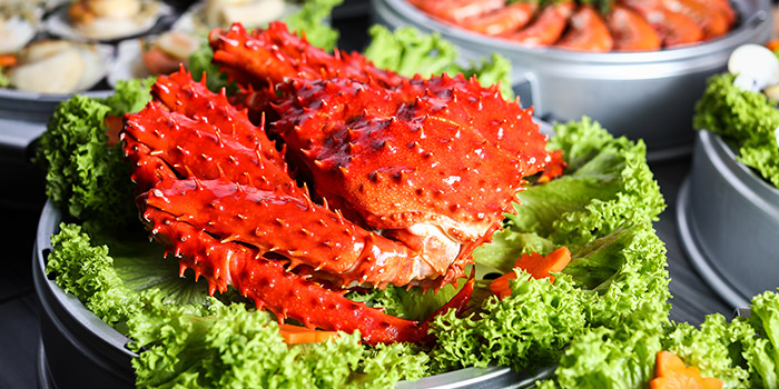 Alaska King Crab from Captain K Seafood Tower at Midland House in Bugis, Singapore