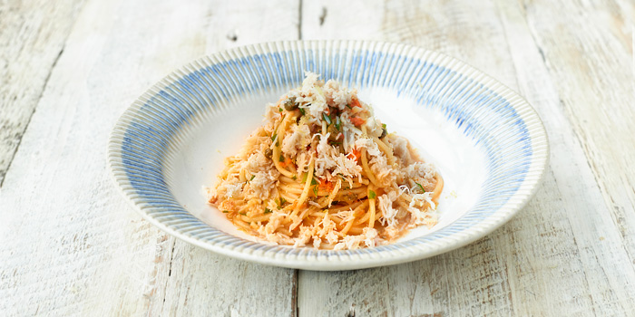 Crab Spaghetti from Jamie