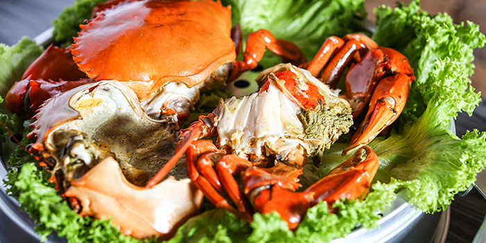 Crab from Captain K Seafood Tower at Midland House in Bugis, Singapore
