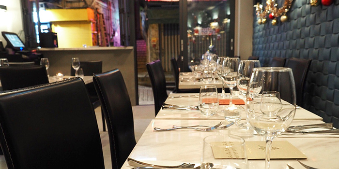 Dining Area, Dose Restaurant and Bar, Central, Hong Kong
