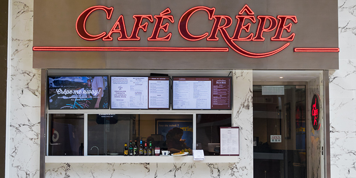 Exterior, Cafe Crepe, Central, Hong Kong