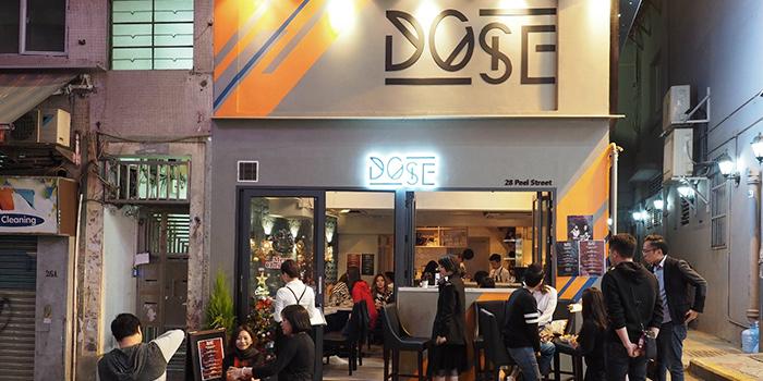 Exterior, Dose Restaurant and Bar, Central, Hong Kong
