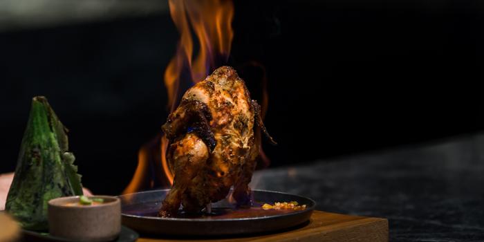 Framming Chicken from Praya Kitchen at Marriott Bangkok Hotel The Surawongse Surawong Road, Si Phraya Bangrak, Bangkok