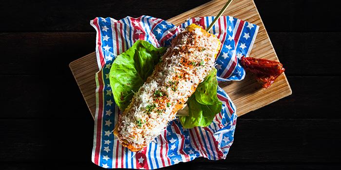 Grilled Corn from Mischief at Esplanade in Promenade, Singapore