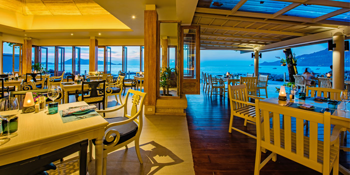 Interior of Sea Salt Lounge & Grill in Patong, Phuket, Thailand.