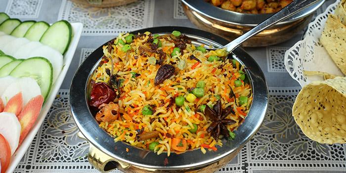 Briyani Rice from Khansama Tandoori Restaurant in Little India, Singapore