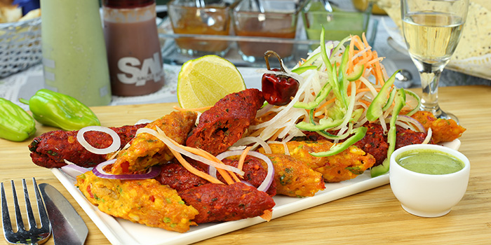 Mixed Kebeb from Khansama Tandoori Restaurant in Little India, Singapore