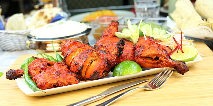 Tandori Chicken from Khansama Tandoori Restaurant in Little India, Singapore