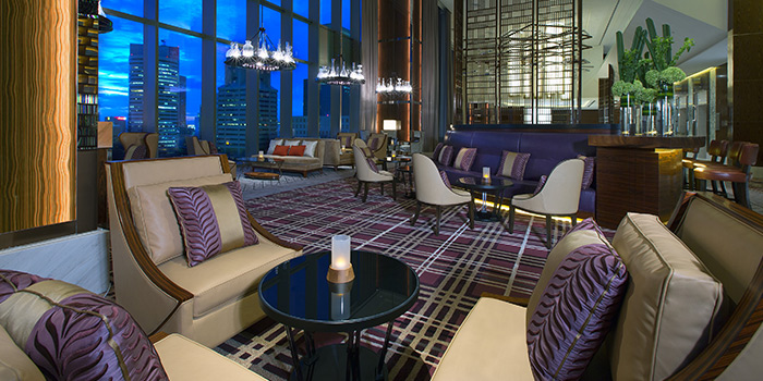 Dining Area of Lobby Lounge at The Westin Singapore in Marina Bay, Singapore