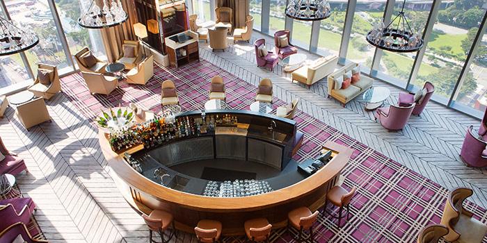 Interior of Lobby Lounge at The Westin Singapore in Marina Bay, Singapore