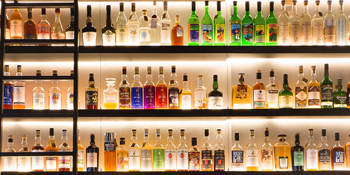 Whisky Bar of La Maison du Whisky in Robertson Quay, Singapore